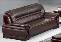 办公沙发 三人位商务会客接待沙发会议沙发办公室沙发  三人位(2200*870*930)