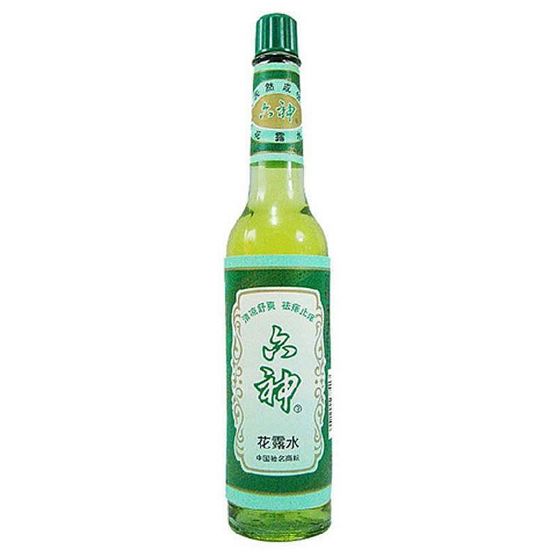 六神花露水经典老式玻璃瓶装195ml*1瓶(清凉舒爽 祛痱止痒)夏季防痱去暑祛除气味去痱子提神