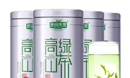 乐品乐茶 2019新茶云雾高山绿茶茶叶 特级浓香型毛尖礼盒春茶共500g(125g*4罐)