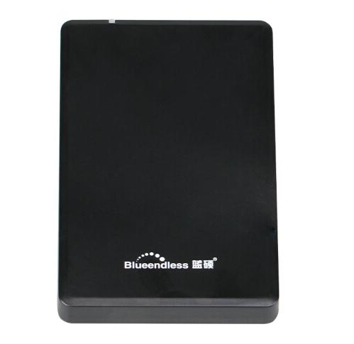 蓝硕(BLUEENDLESS)移动硬盘 500gUSB2.0A系列-U2 蓝硕500G