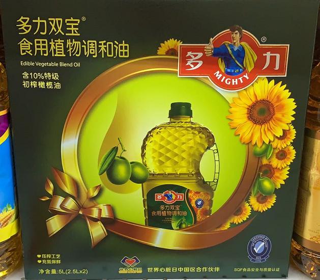 多力 双宝调和油 油 礼盒装(2.5LX2)