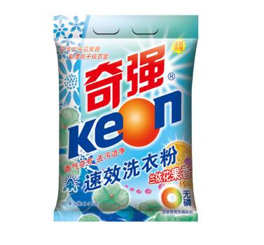 奇强 无磷速效洗衣粉 240g/袋