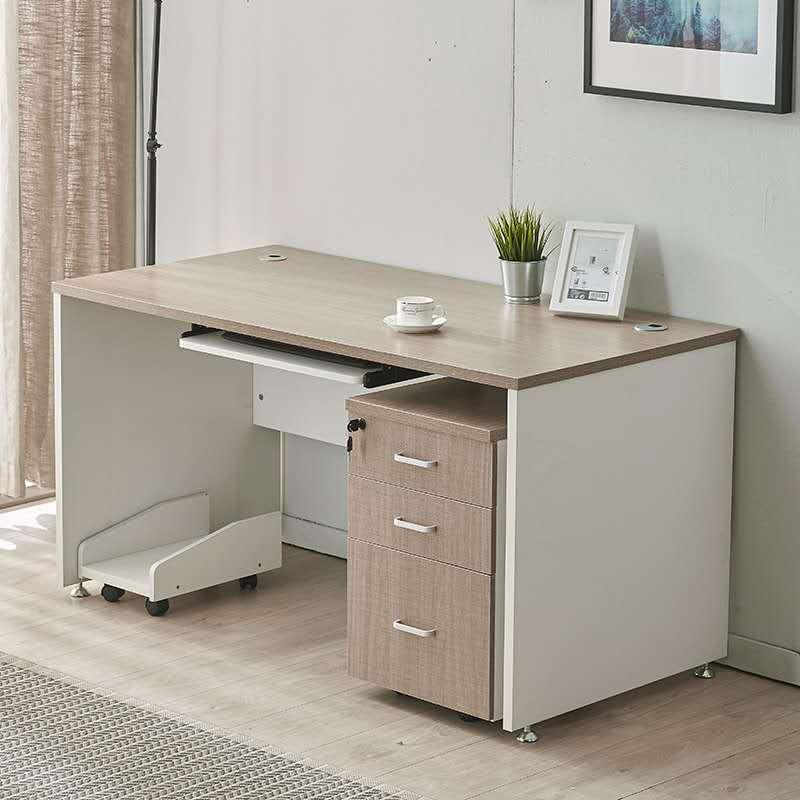 电脑办公桌椅套120*65*75(含主机托 柜 键盘托)