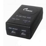 锐捷(Ruijie)RG-E-120(GE)单口千兆以太网POE供电模块 无线AP电源适配器 黑色