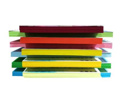 彩色厚硬卡纸 230克 A4厚硬彩卡 10色 100张/包