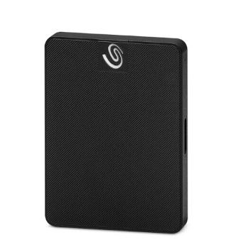 希捷(Seagate) 500G USB3.0 移动硬盘 固态(PSSD) 颜系列 2.5英寸黑钻版