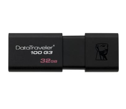 金士顿(Kingston)32GB USB3.0 U盘 DT100G3 黑色