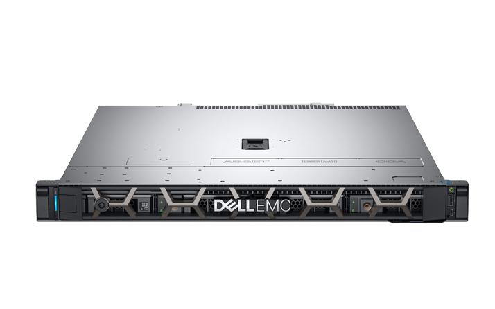 Dell 1U机架式服务器DELL  R240 热盘  (4盘位)E-2224/16GB 2666MT/s/1TSATA企业级*2块/DVDRW/250W