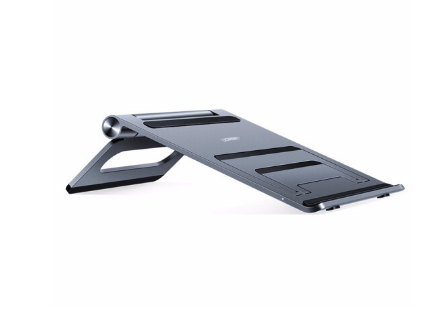 绿联 笔记本支架折叠便携式桌面立式平板支架铝合金散热器升降底座托架通用苹果MacBook pro电脑 三档位-双向调节款