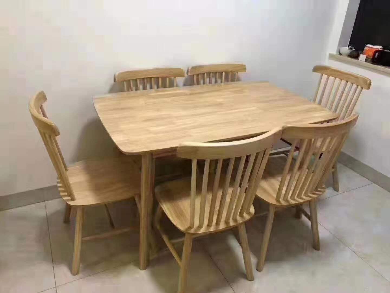 橡胶木 椅子 靠背椅