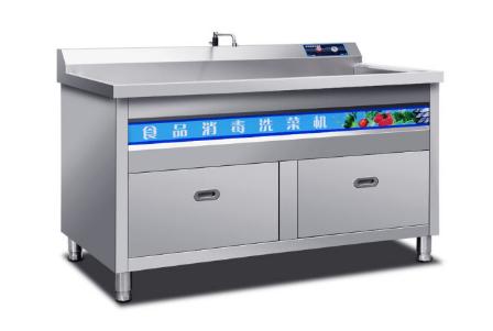 驰能(CHINENG) 全不锈钢机身洗菜机水果蔬菜解毒机家用全自动洗菜机 商用洗菜机