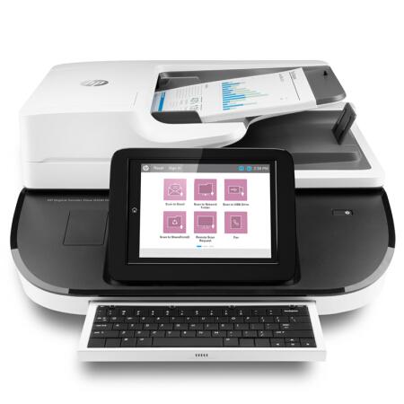 惠普Digital sender Flow 8500fn2企业级文档扫描工作站/网络/U盘扫描