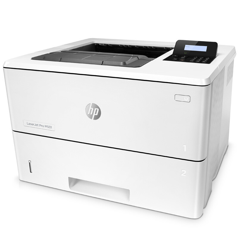 惠普HP M501dn A4黑白高速高负荷双面网络激光打印机