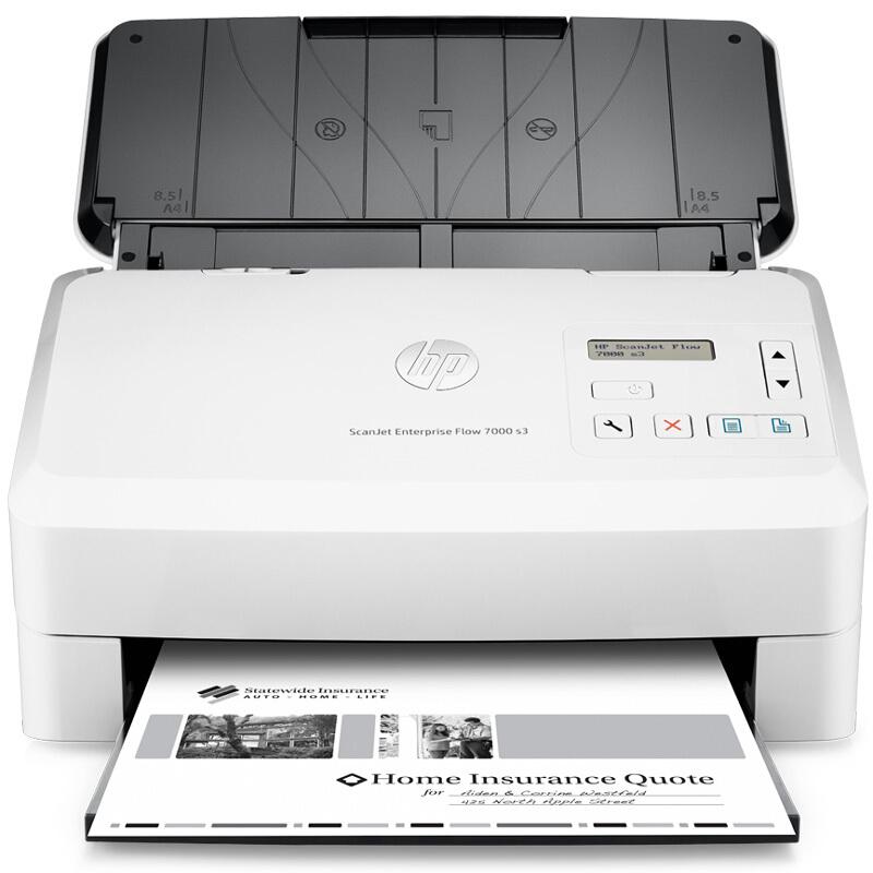 惠普ScanJetEnterprise Flow 7000s3企业级馈纸式扫描仪