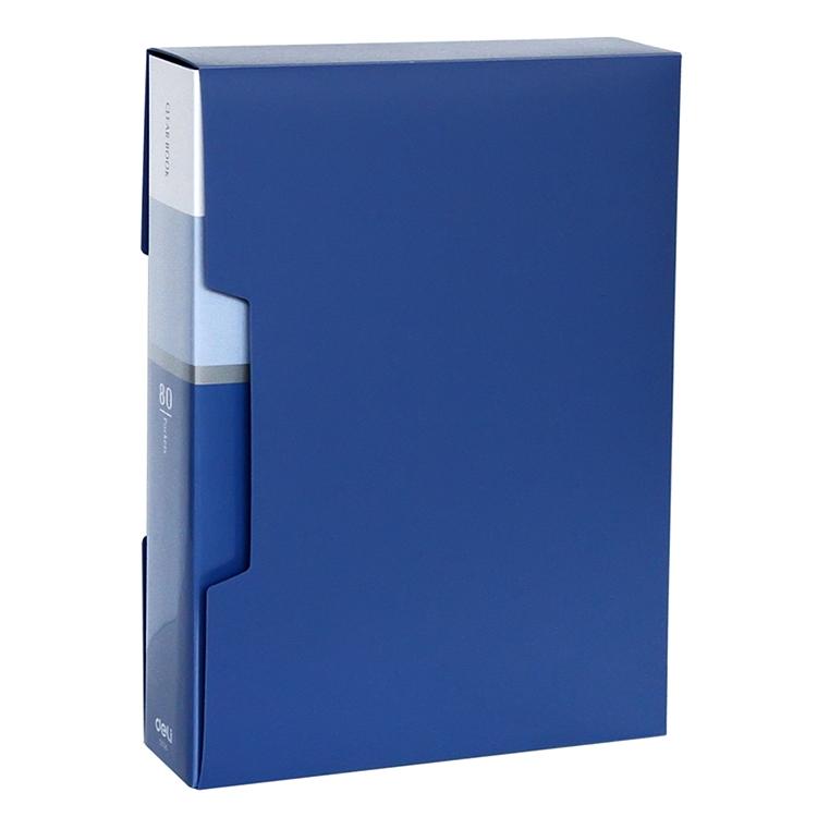 得力 5006 80页资料册 (单位:本) 蓝