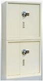 保密文件柜钢制铁皮柜两门保密柜矮柜储物柜档案柜资料柜带电子锁 两门保密柜(900*430*1850)