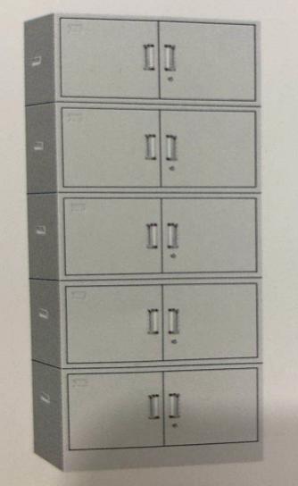 档案柜 1850xW850XD390mm 五节/组
