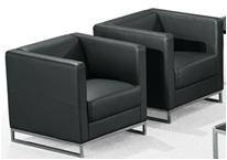 办公家具商务沙发简约现代办公沙发单人沙发经理室沙发 单人位(720*740*680)