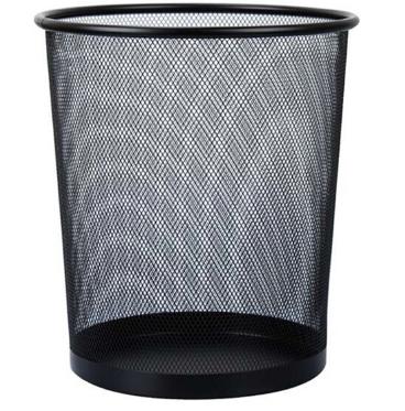 探戈(TANGO)超大号金属网垃圾桶 办公室厨房卫生间家用清洁桶 办公环保纸篓φ295mm