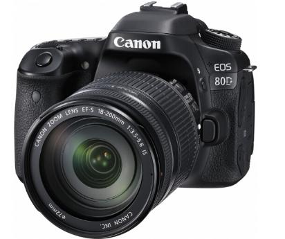 佳能 EOS 80D EF-S 18-200IS 数码照相机