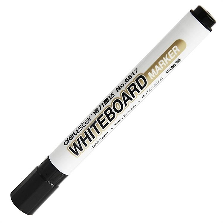 得力(deli)白板笔 可擦易擦 办公会议 6817