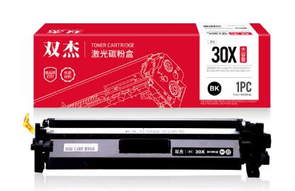 双杰 CF230A粉盒带芯片 适用惠普M227FDW硒鼓 M203DW M203DN M227SDN M203D hp30A粉盒