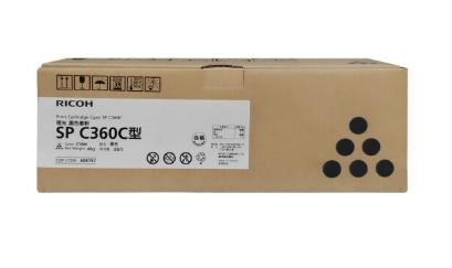 理光(Ricoh)SP C360C 黑色墨粉盒 碳粉适用于SP C360DNw/C360SFNw 黑色
