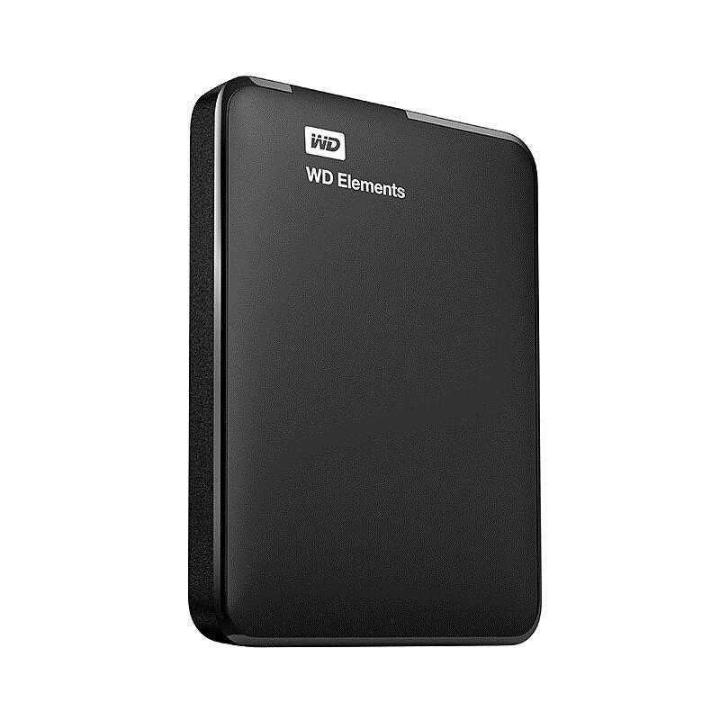 西部数据(WD)1TB USB3.0移动硬盘Elements 新元素系列2.5英寸