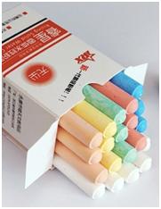 睿星 水溶性无尘环保彩色粉笔