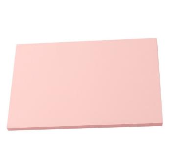 小钢炮A4彩色复印纸 80G 打印纸儿童手工折纸DIY彩纸 彩色折纸剪纸  粉色淡红色 500张/包