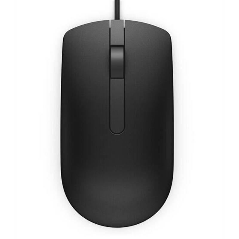 戴尔MS116有线光电鼠标黑色USB接口