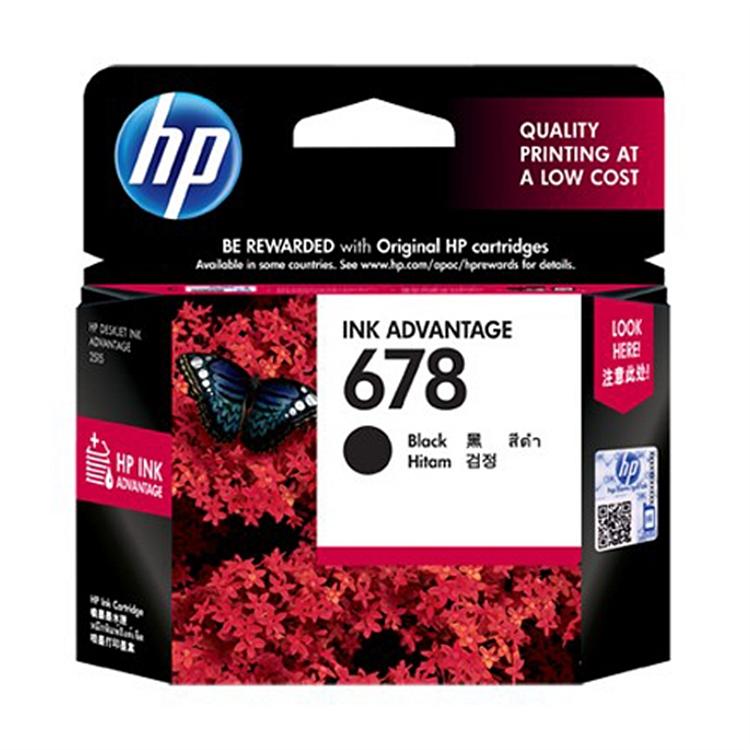 惠普 HP678 CZ107AA 原装墨盒 黑色 适用于HP3548
