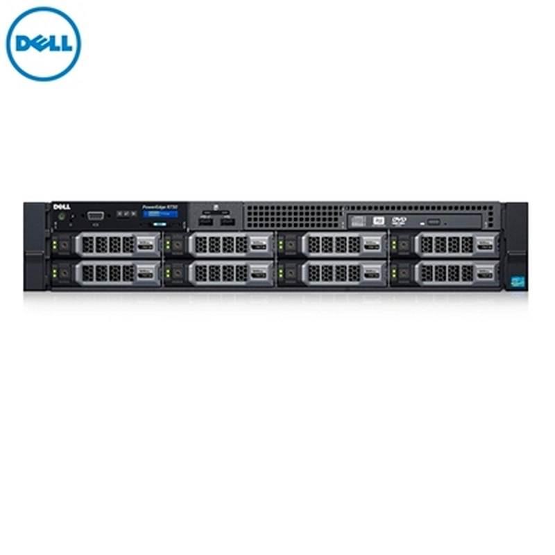 戴尔 Dell R730 服务器 :E5-2650V4*2/16G*10/480GSSD*3/2T3.5SAS7.2K*3/H730P/750W*2/远程管理/导轨/DVDRW/